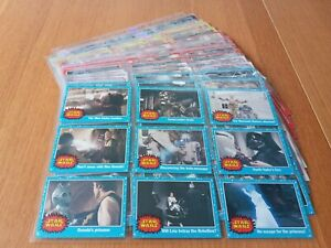 STAR WARS HERITAGE TRADING CARDS 1-120 & CHASE CARDS COLLECTION BY TOPPS 2004