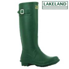 Womens LAKELAND Rubber Waterproof Neoprene Wellies Ladies Wellington Boots  Size