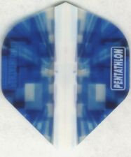 Blue RUBIK PENTATHLON Dart Flights: 3 per set