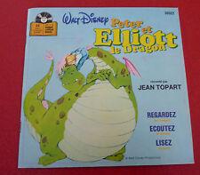 33 RPM 7'' Album vinyl Livre Disque Walt Disney Peter et Elliott le Dragon !