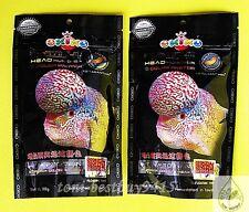 200g Best Okiko Flowerhorn Cichlid Fish Food Platinum Head Huncher Color Faster.