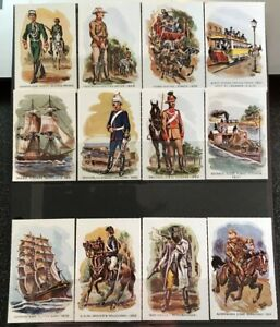 MONTY WEDD ART 1960s Military/Ned Kelly/History Set 12 Poster Labels