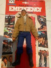 "EMERGENCY""51""TV vintage Roy De Soto figures ""BROWN JACKET"""