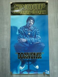 Original Snoop Doggy Dogg Doggystyle 1993 Promo Poster, Death Row Records *RARE*