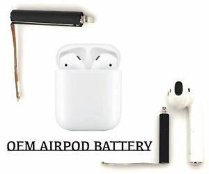 1x Battery For Airpod Replacement Lithium Repair 3.8v mAh OEM Original Quality