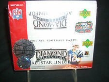 2004 Upper Deck All Star Lineup Diamond Collection Football Cards Sealed Hobby B