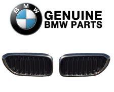 Pair Set of Left & Right M Performance Black Kidney Grilles Genuine For BMW G30
