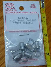 SS Ltd. HO #7216 T.W. Snow Coaling Tower Details (Cast)