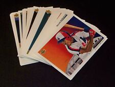 Montreal Expos 1992 Upper Deck Team Set 31 Cards