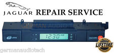 JAGUAR 1994-97 XJ6 XJR X300 CLOCK LCD DISPLAY HAZARD SWITCH PIXEL REPAIR SERVICE