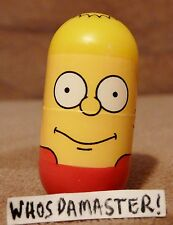Simpsons Mighty Beanz 2004 #1 BART SIMPSON Bean Retired Free US CS