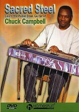 Sacred Steel Learn The Pedal Steel Guitar Of Chuck Campbell to Play Music DVD
