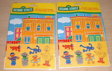 CTW Sesame Street sticker lot (2)  Activity Scene Board with Removable Stickers