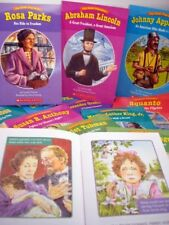 BIOGRAPHIES Famous Americans Leveled Readers United States Hero History Books
