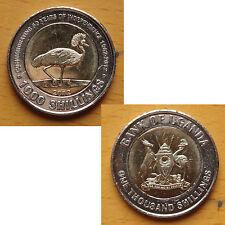 Uganda Bimetal Coin 1000 Shillings 2012 UNC