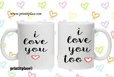 74 I LOVE YOU CUORE LUI E LEI TAZZA di Natale/San Valentino idea regalo presenti