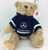 Brand New With Tags Herrington Mercedes Benz Plush Collectible Teddy Bear