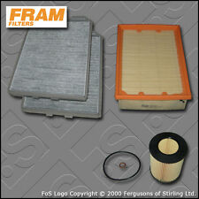 SERVICE KIT for BMW 5 SERIES 528I E39 FRAM OIL AIR CABIN FILTERS (1995-2000)