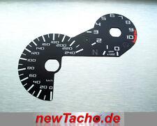 BMW R1200GS LC 2013 einlege Tachoscheibe Km/h Gauge Tacho Dial Umskalierung NEU