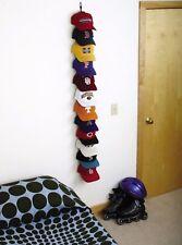 Perfect Curve 36 Cap Rack Baseball Hat Organizer Storage Wall Door Closet Hanger
