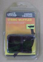 Game Tracker String Muffler 2pk Grn/Blk 5720 Vintage ? NIP