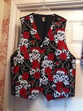 MENS WAISTCOAT- HANDMADE TO FIT YOU- GOTHIC WEDDING BALL PROM ETC (SEE X12 PICS)