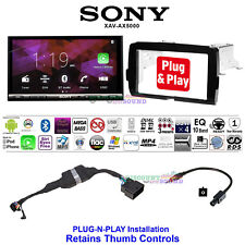 FOR 2014-2020 HARLEY DAVIDSON 2 DIN TOUCH SCREEN RADIO KIT WITH SONY XAV-AX5000