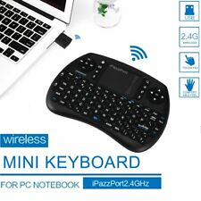 iPazzPort Wireless Mini Keyboard W/ Touchpad for Android TV Box and Raspberry SU