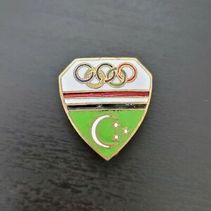Very Rare Vintage Pin Badge Olympic NOC EGYPT 1956 MELBOURNE AUSTRALIA ENAMEL