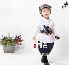 Korean Traditional Hanbok for Baby Boy Birthday Party Korean National Kid Dolbok