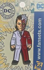 DC Comics Two-Face Collectors Pin Licensed FanSets