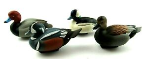 Lot of 4 Jett Brunet Ducks Unlimited Mini Decoys 2011 2012 2013 2015