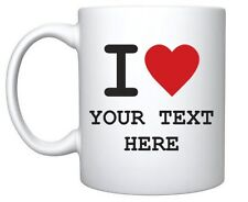 Personalised Mug Custom Printed any image or message - GIFT -  FAST DELIVERY :)