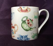Bone China Teapot Tea Party Chintz Mug Hand Decorated In Wales Gift
