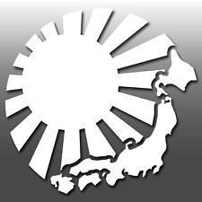 Carta GIAPPONESE JDM Rising Sun Auto Finestra/Adesivo decalcomania in vinile PARAURTI | Drift | JAP