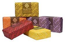 Alaffia - Triple Milled Shea Butter Soap, Variety 6 Pack