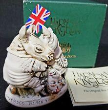 New listing Harmony Kingdom Nose Bleed Rhino's Revenge Banned Black Box England Le 1715 Sgn