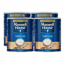 Maxwell House Instant Cappuccino, 750g Pack of 4