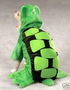 New Zack & Zoey TURTLE Dog Puppy pet Halloween Costume XS Green