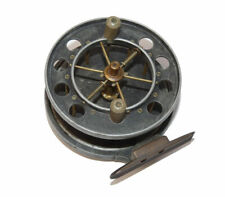 """early Allcock Aerial Centrepin trotting reel, 3-1/2""""  6 spoke with tension ad..."""