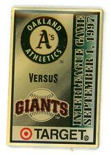 Giants vs A's 1997 Interleague Pin San Francisco pins athletics SGA sfg83