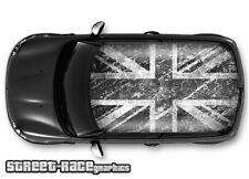 708 Car roof wrap printed sticker - Mini Cooper Grunge union jack
