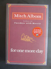 For One More Day by Mitch Albom (2006, Hardcover), Signed 1st Edition