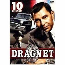 Dragnet 10 Episodes Jack Webb Barney Phillips DVD NEW
