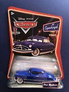 Doc Hudson - Disney Pixar Cars - Supercharged - Mattel 1:55 BNIB