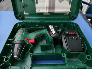 Bosch PSR 14,4 LI -2 Akkuschrauber mit einem Akku und Ladegerät