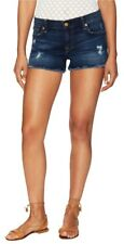"""7 For All Mankind Sunnyvale Medium Heritage 3""""Distressed Cut Off Short"""