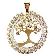 Tree of Life Pendant 18k Gold Plated Life Tree Pendant - Tree of Life Necklace