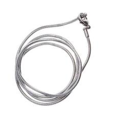 """Stainless Steel 2mm Wide Mens Womens 22"""" inch Long Chain Silver Necklace New"""