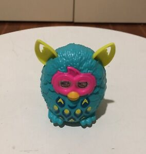 Furby Green 2013 McDonalds Happy Meal Toy Figure Used